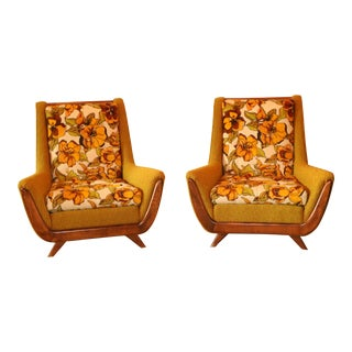 Pearsall Style Lounge Chairs - A Matching Pair