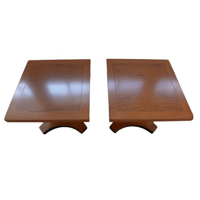 Image of Palladian Collection Tables Designed by Baker - A Pair