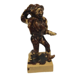 Jumping Jim Crow Pottery Figure
