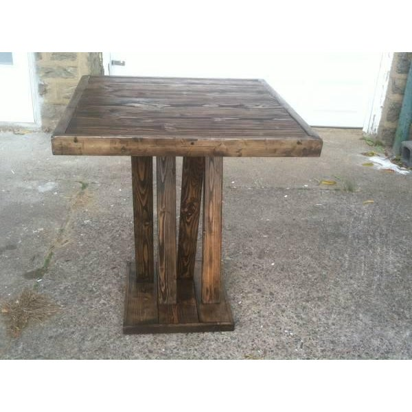 Image of Rustic Pub Table