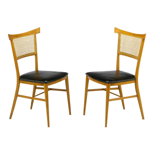 Four Paul McCobb Maple Perimeter Group Dining Chairs - Image 1 of 8