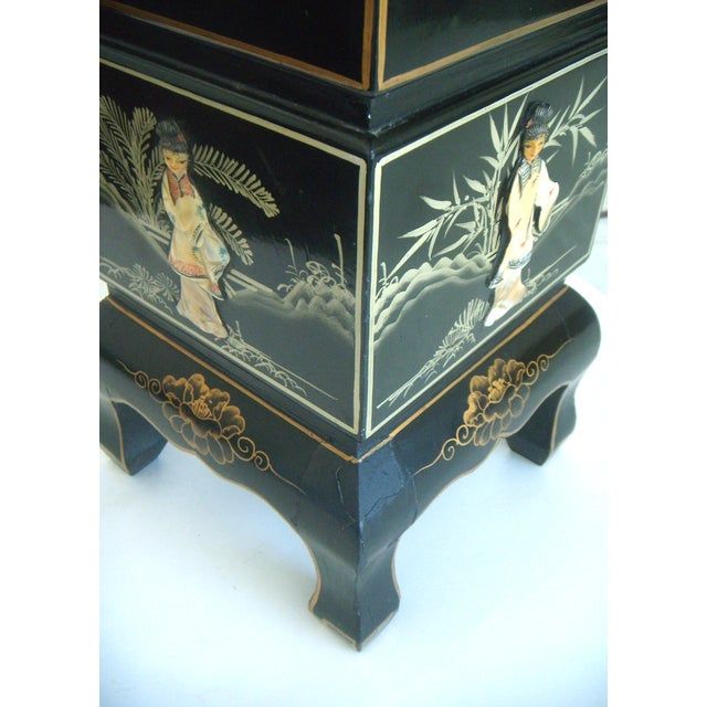 Vintage Lacquered Chinese Lanterns - Pair - Image 9 of 9