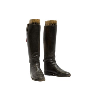 Antique French Riding Boots & British Forms