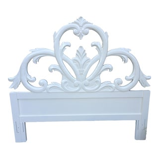Vintage Ornate Queen Headboard