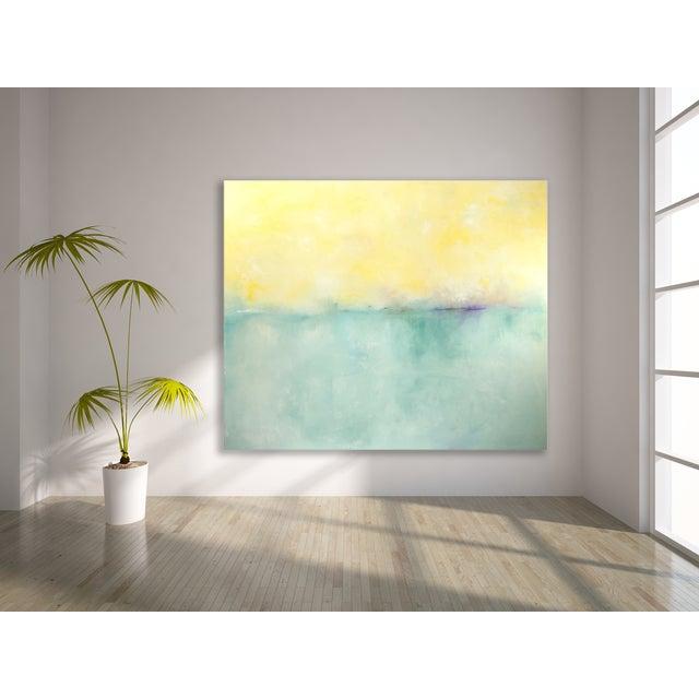 "Chris Brandell ""Dawn"" Painting - 60"" x 72"" - Image 2 of 2"
