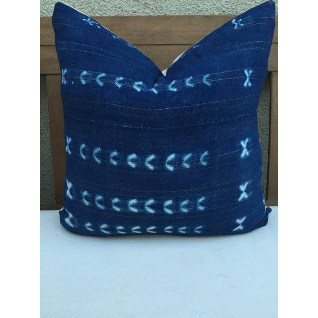 Image of African Vintage Textile Pillow
