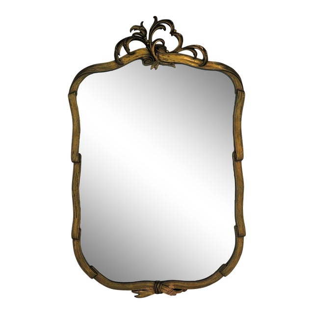 Antique Hand Carved Italian Mirror - Image 1 of 6