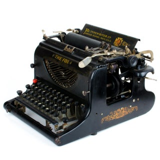 Antique The Fox Visible No. 23 Typewriter