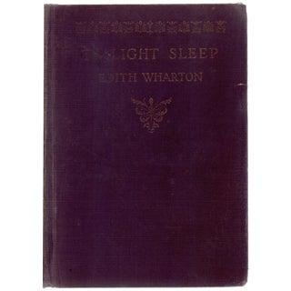 """Twilight Sleep"" Book Circa 1927"