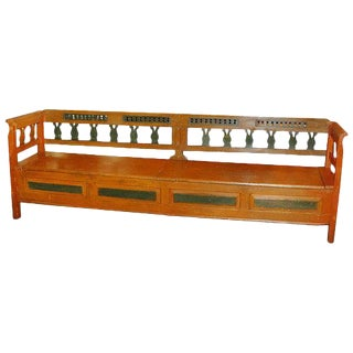 European Long Bench