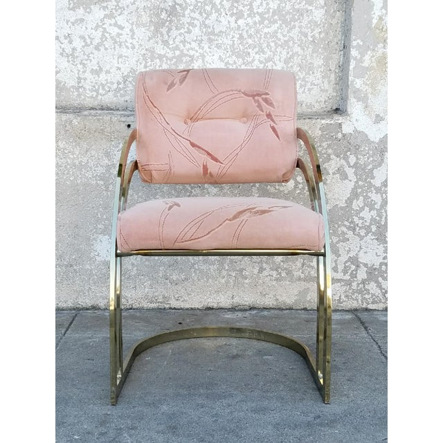 Vintage Milo Baughman Chairs- Set of 4 - Image 5 of 6