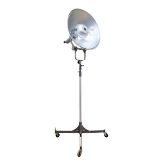 Vintage Industrial Studio Floor Light