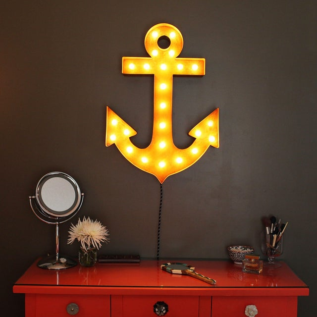 "30"" Vintage Marquee Anchor Light - Image 2 of 2"