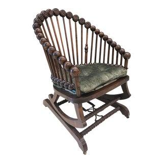 Hunzinger Lollipop Platform Rocking Chair