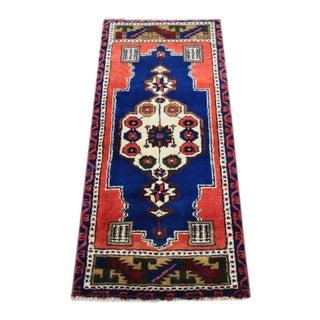 Vintage Tribal Oushak Rug - 1′7″ × 3′7″