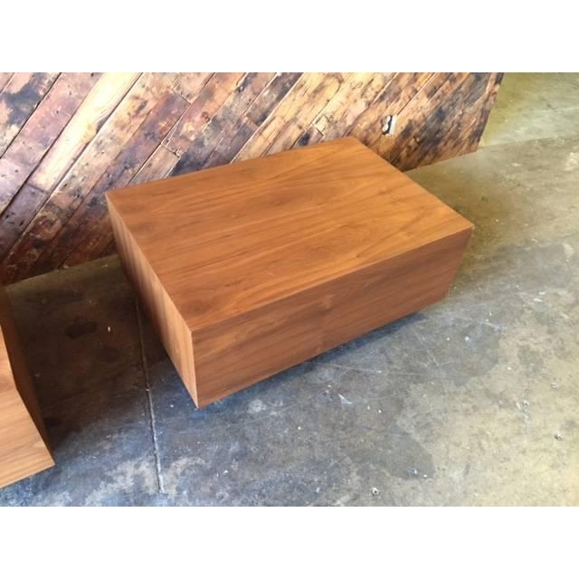 Handmade Mid Century Coffee Table: Mid-Century Style Custom Wood Coffee Table