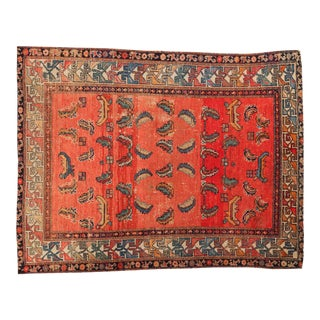 "Antique Hamadan Rug - 4'5"" x 5'10"""