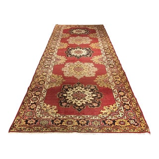 Bellwether Rugs Vintage Turkish Oushak Runner - 5' x 13'