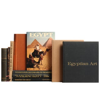 Egyptian Mini Book Library - Set of 11