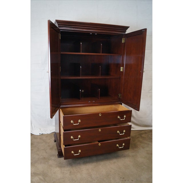 Councill Craftsman Chippendale Armoire - Image 6 of 10