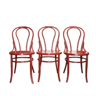 Heywood-Wakefield Bentwood Chairs - Set of 3