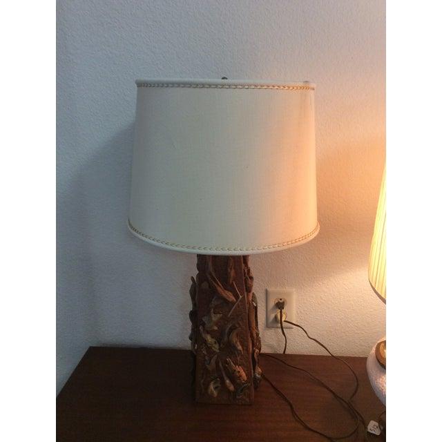 Image of Vintage Driftwood Lamp