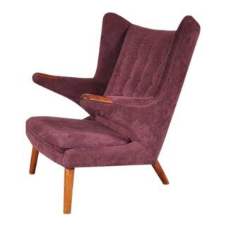 """Papa Bear"" Chair by Hans J. Wegner for A.P. Stolen, Denmark, circa 1950"