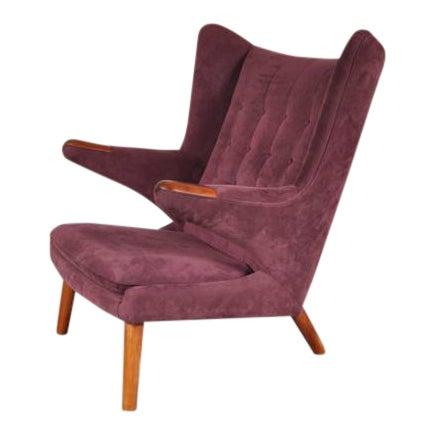 """""""Papa Bear"""" Chair by Hans J. Wegner for A.P. Stolen, Denmark, circa 1950 - Image 1 of 8"""