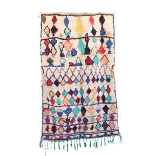 "Vintage Azilal Moroccan Berber Rug - 3'8"" x 6'0"""