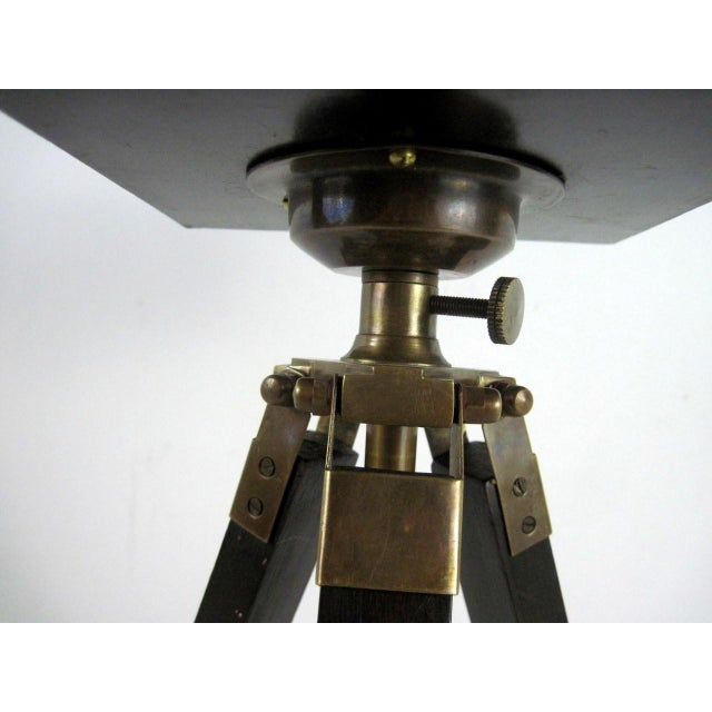 Brass And Wood Tripod Replica 1800's Box Camera - Image 9 of 9