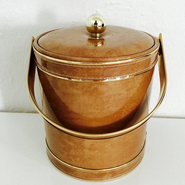 George Briard Mid-Century Modern Ice Bucket - Image 3 of 10