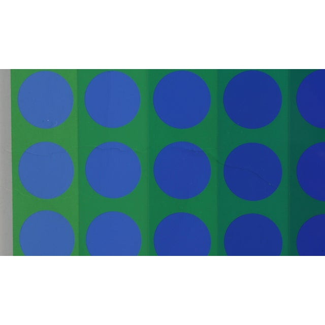 CTA - Blue by Victor Vasarely - Image 2 of 4