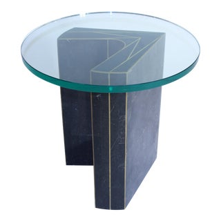 Granite Inlay Table