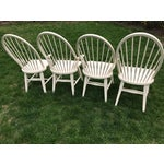 Image of Farmhouse Windsor Chairs - Set of 4