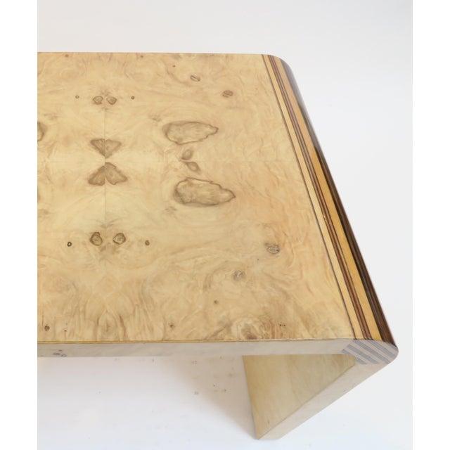 Henredon Vintage Burlwood Side Tables - A Pair - Image 5 of 8