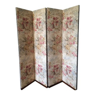 George Smith Floral Folding Screen