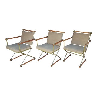 Cleo Baldon Campaign Chairs - Set of 3