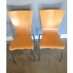 Image of Gordon International Bentwood Side Chairs - Pair
