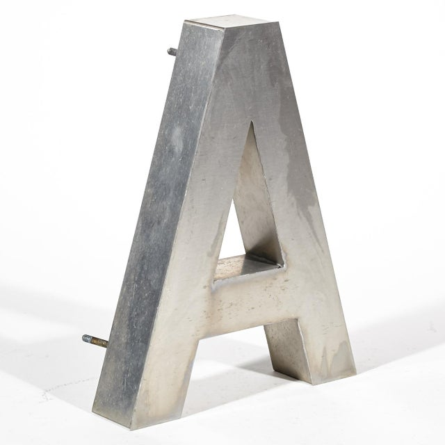 "Aluminum ""A"" Letter - Image 3 of 4"