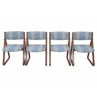 Waterwave Mid-century Dining Chairs - Set of 4