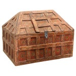 Small Teak Dowry Chest