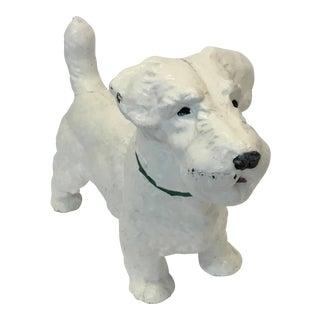 Iron Dog Westie Decorative Figurine
