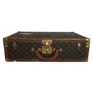 Louis Vuitton Trunk Suitcase Alzer W/Hanging