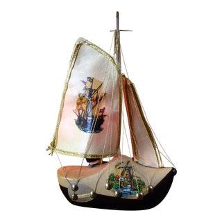 Wooden Shoe Boat Lamp