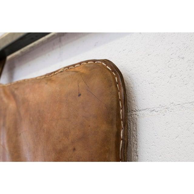 Vintage Leather Gymnastics Mat - Image 6 of 8