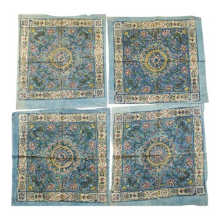 Indian Kalamkari Textiles - Set of 4