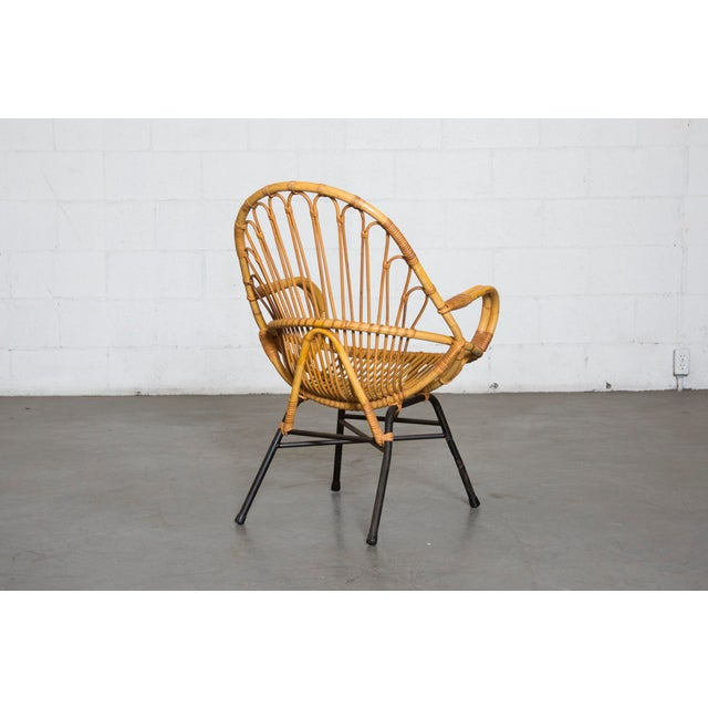 Rohe Noordwolde Bamboo Hoop Chair With Arms - Image 5 of 10