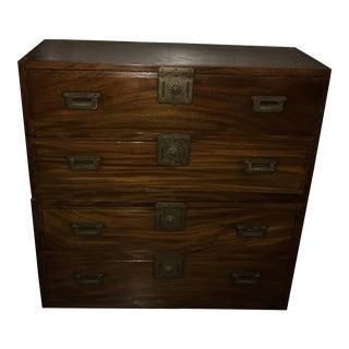 Handmade Oriental 4-Drawer Dresser
