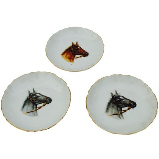 Equestrian Trinket Dishes - Set of 3