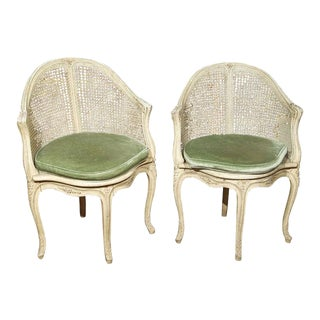 French Corner Chairs by Maison Jansen - A Pair